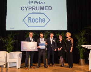 First prize of Best of Biotech competition